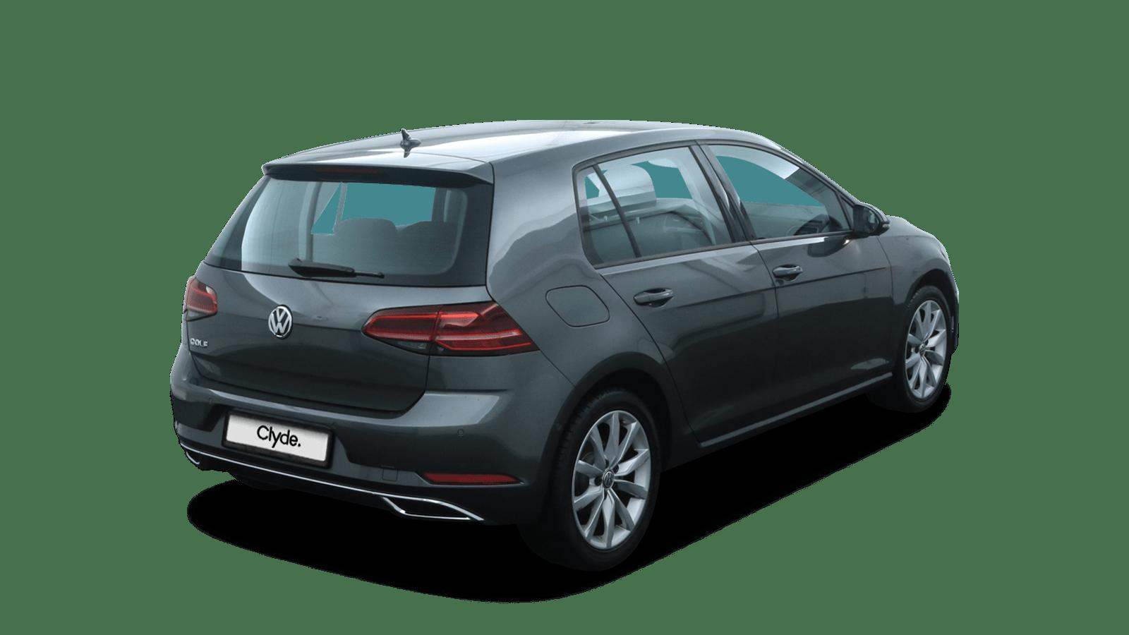 VW Golf Grey back - Clyde car subscription