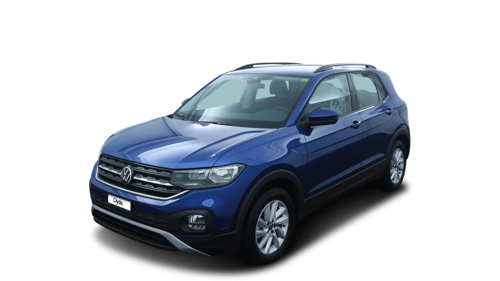 VW T-Cross Blue front - Clyde car subscription