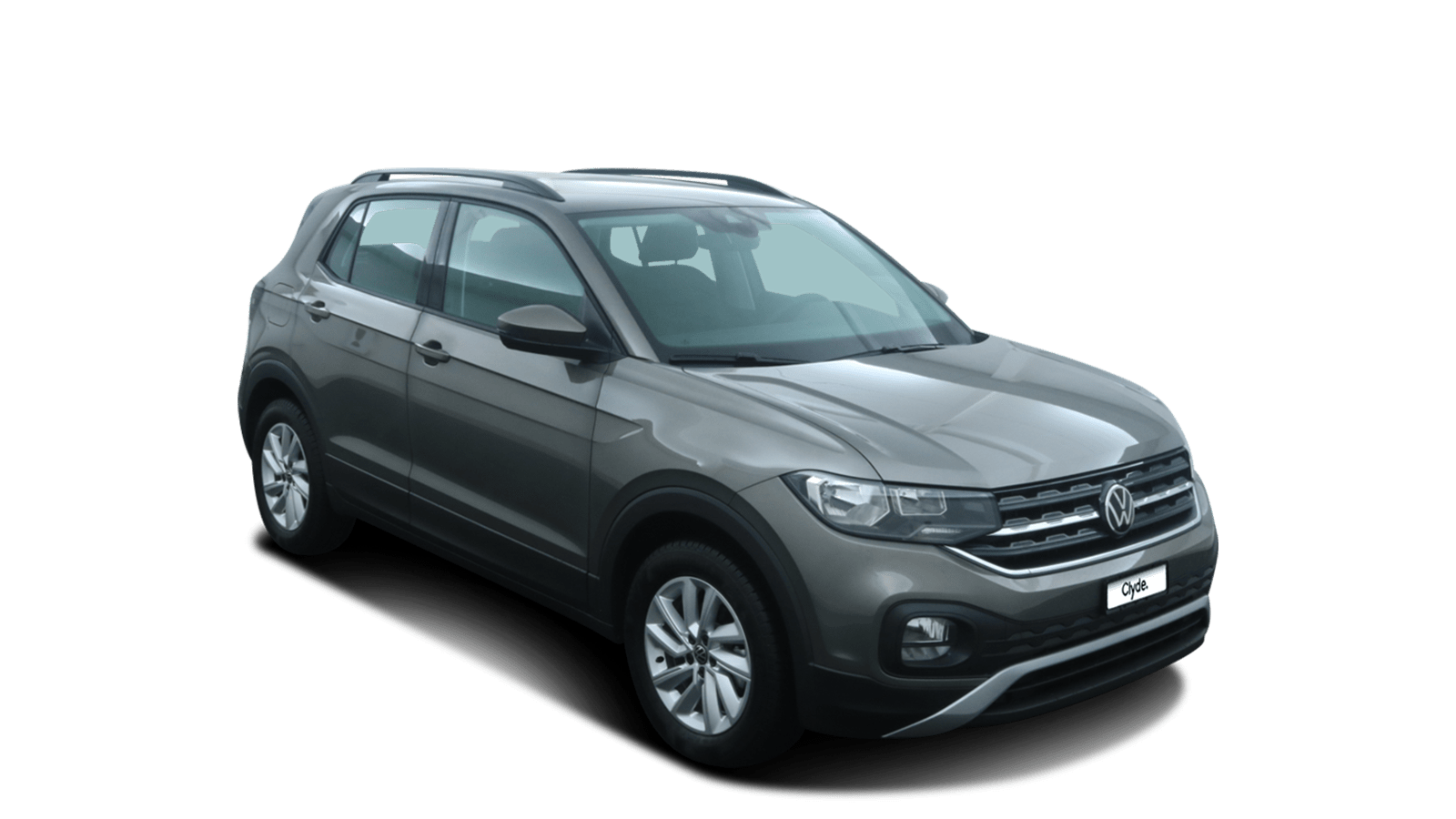 VW T-Cross Grau front - Clyde Auto-Abo