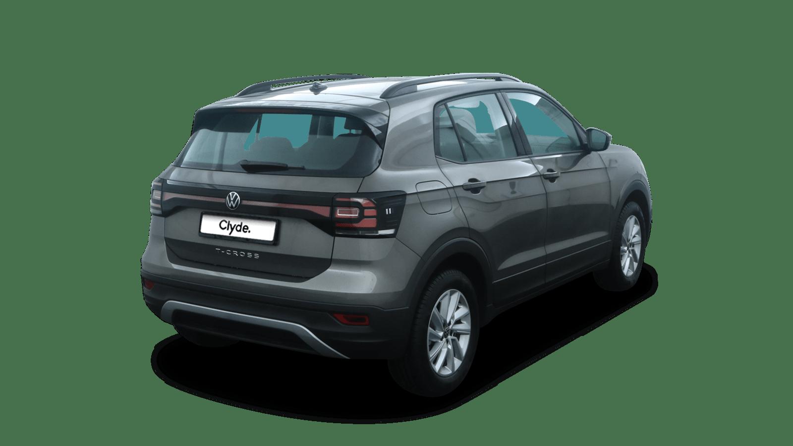 VW T-Cross Grey back - Clyde car subscription