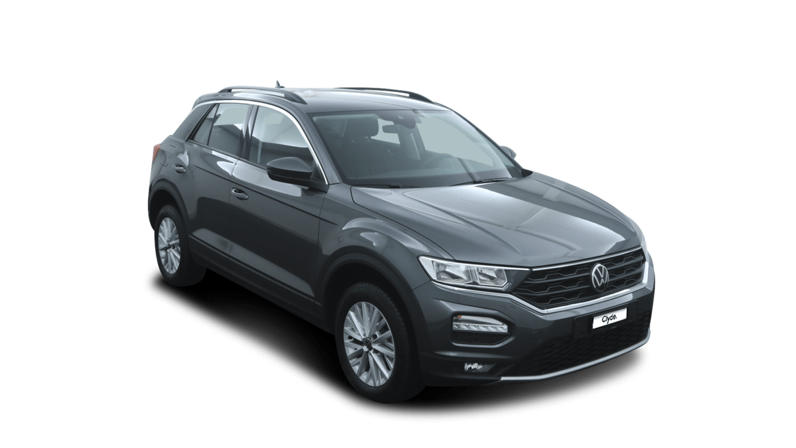 VW T-Roc Grey front - Clyde car subscription