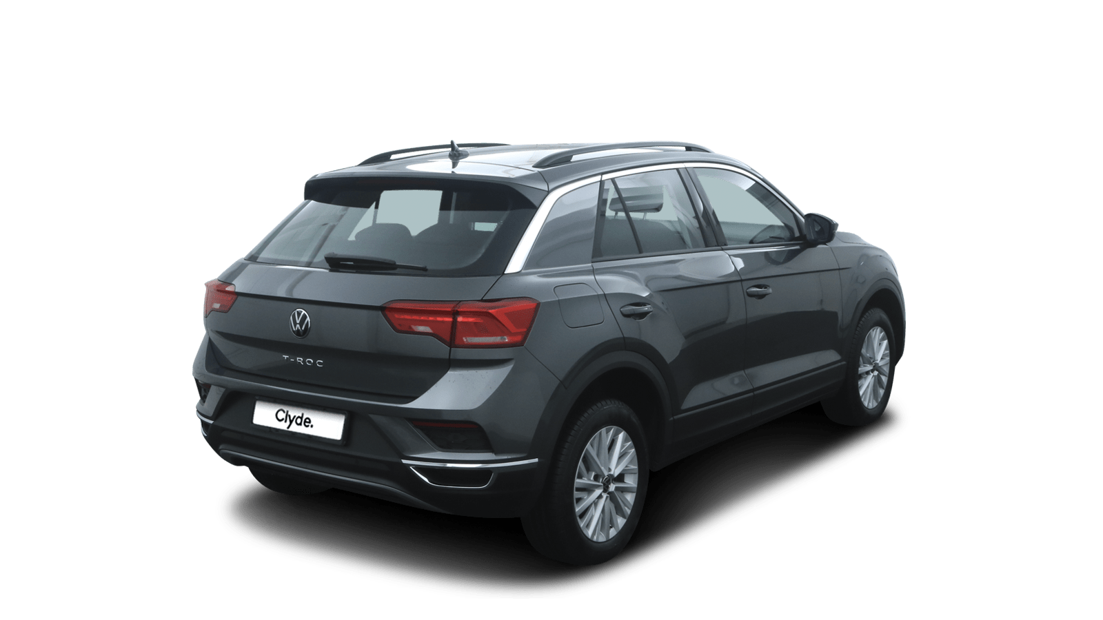 VW T-Roc Grey back - Clyde car subscription