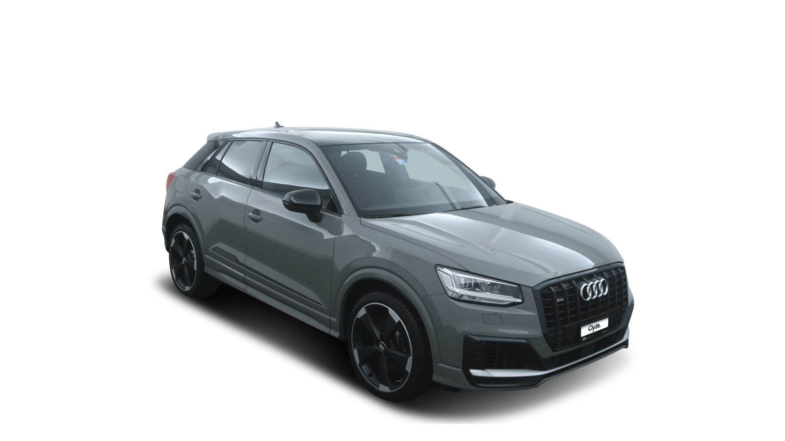 Audi SQ2 Grey front - Clyde car subscription