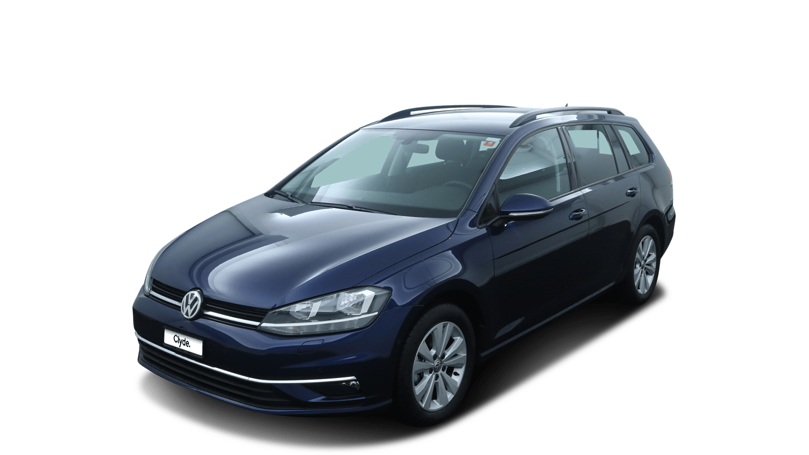 VW Golf Variant Blue front - Clyde car subscription