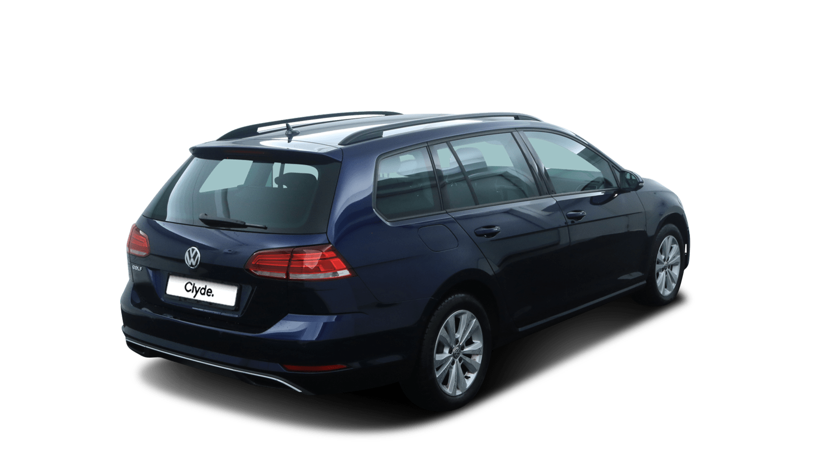 VW Golf Variant Blue back - Clyde car subscription