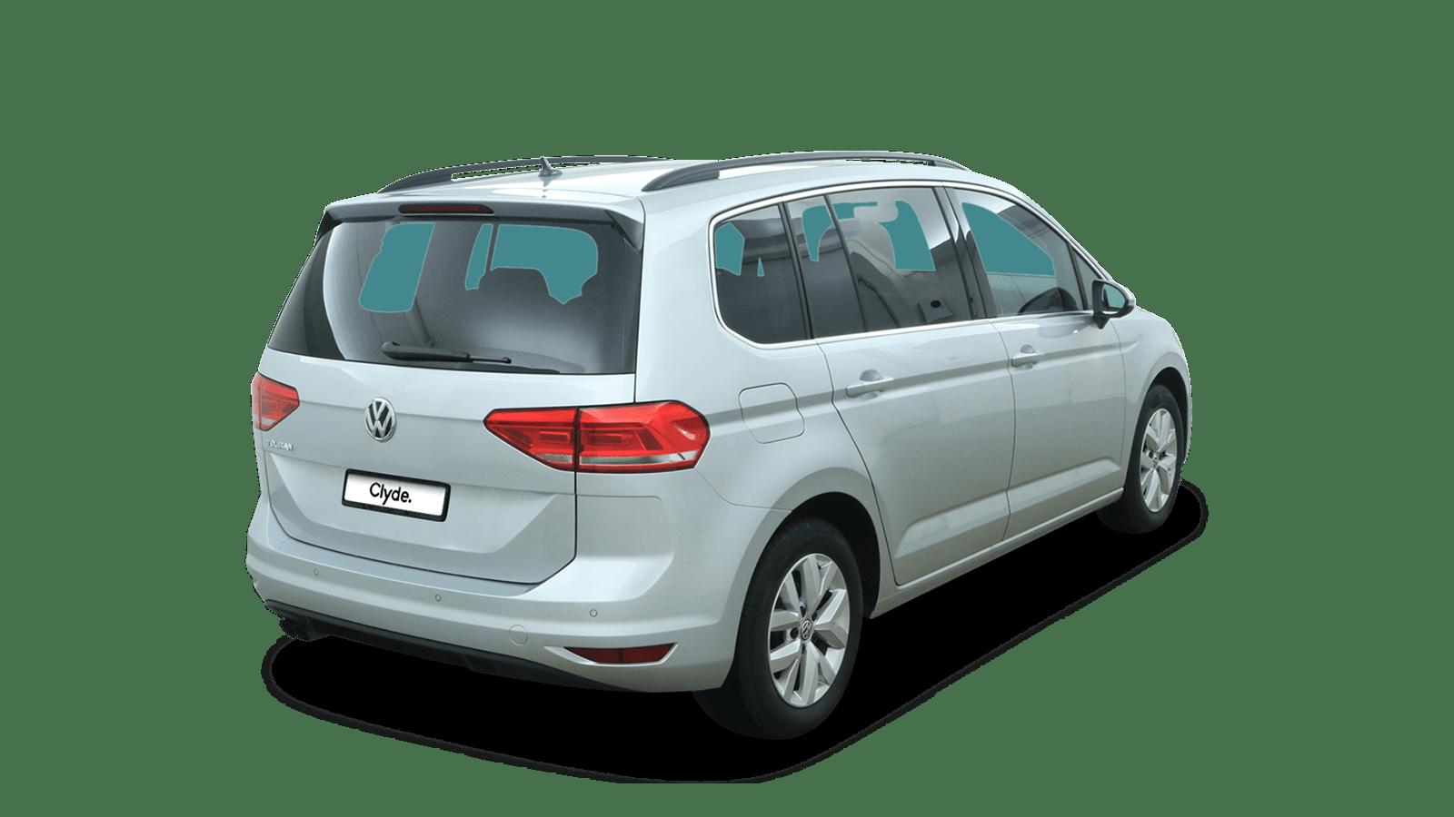 VW Touran Silver back - Clyde car subscription