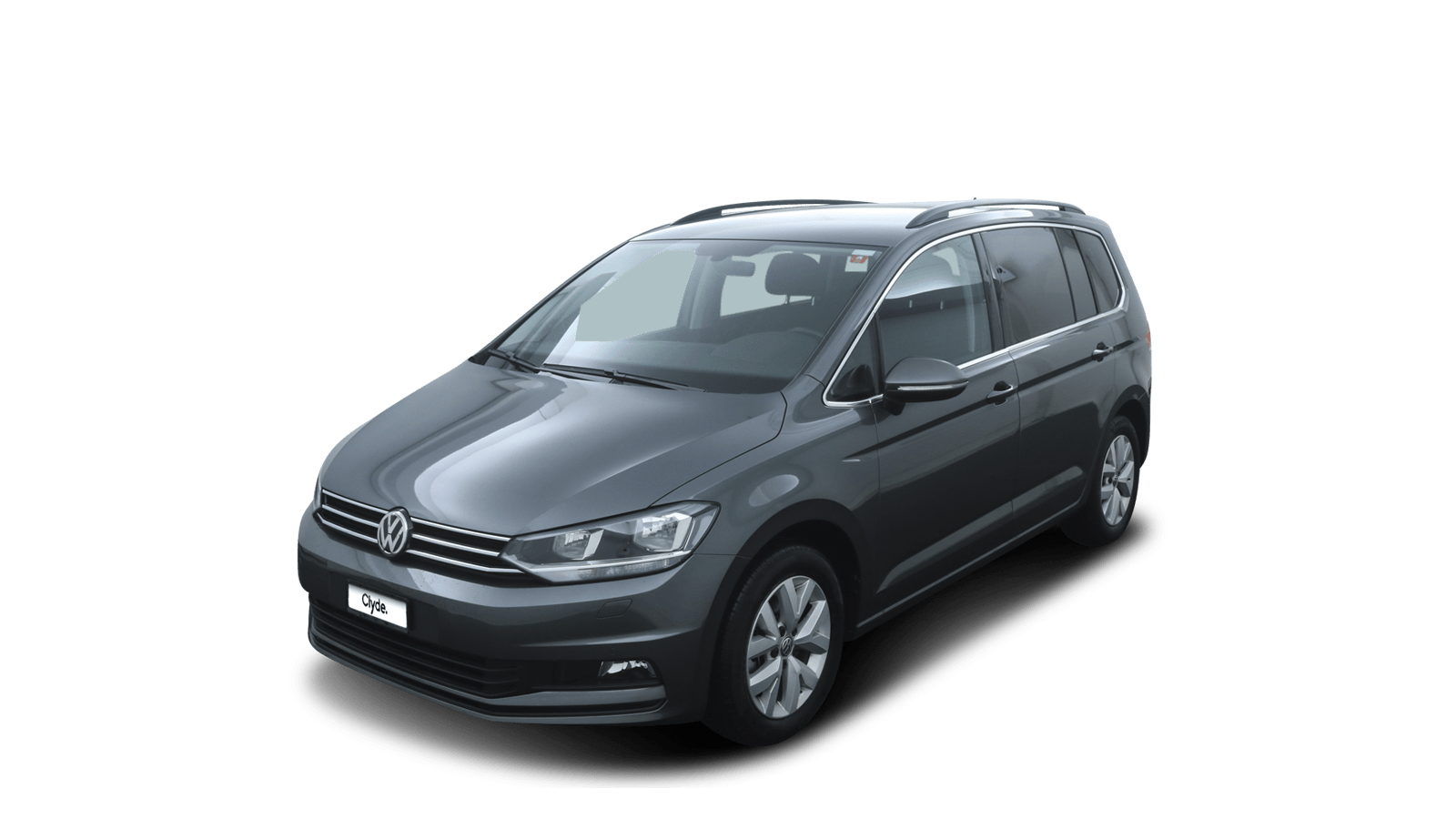 VW Touran Grey front - Clyde car subscription