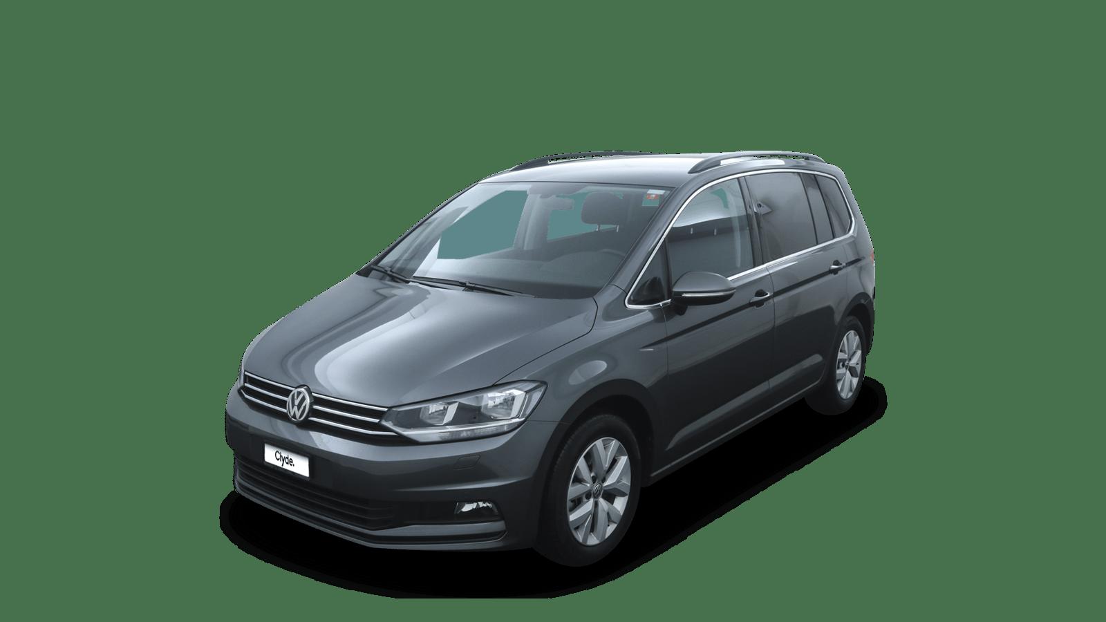 VW Touran Grau front - Clyde Auto-Abo