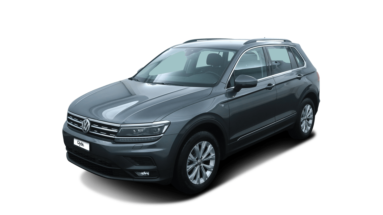 VW Tiguan Grey front - Clyde car subscription