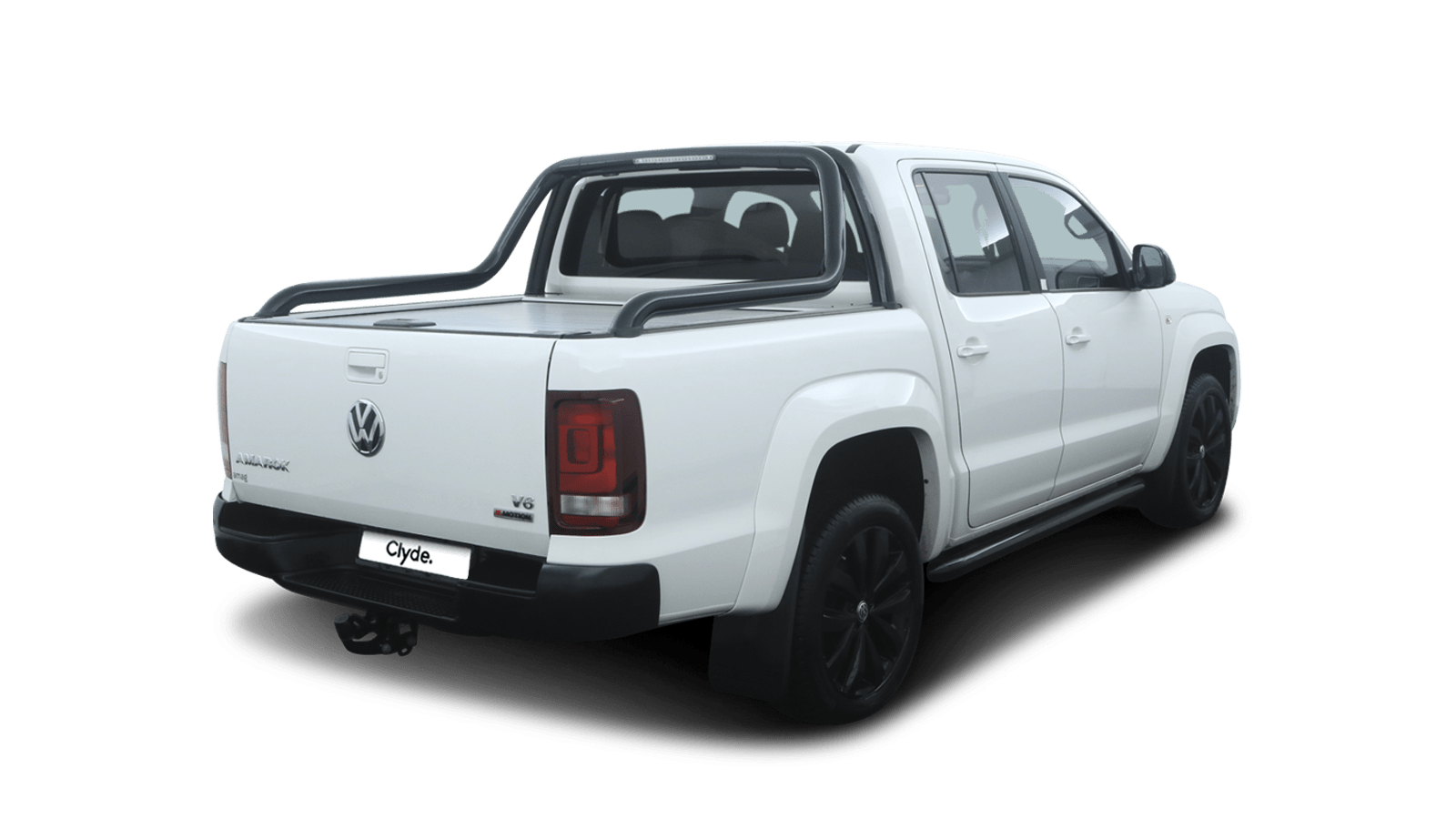 VW Amarok White back - Clyde car subscription