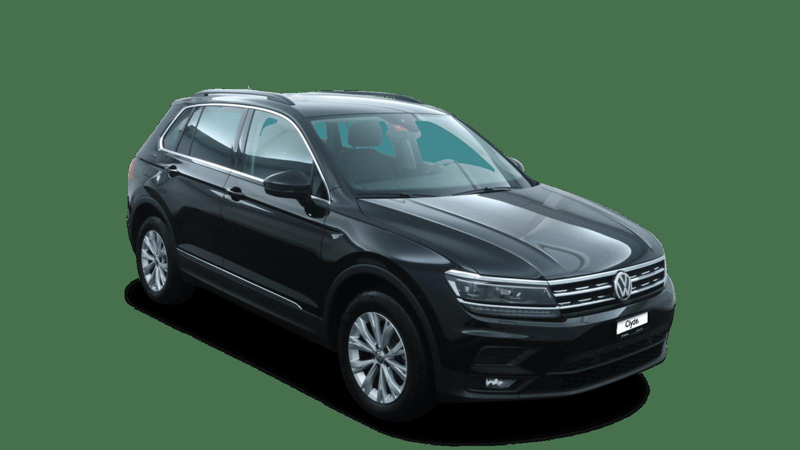 VW Tiguan Black front - Clyde car subscription