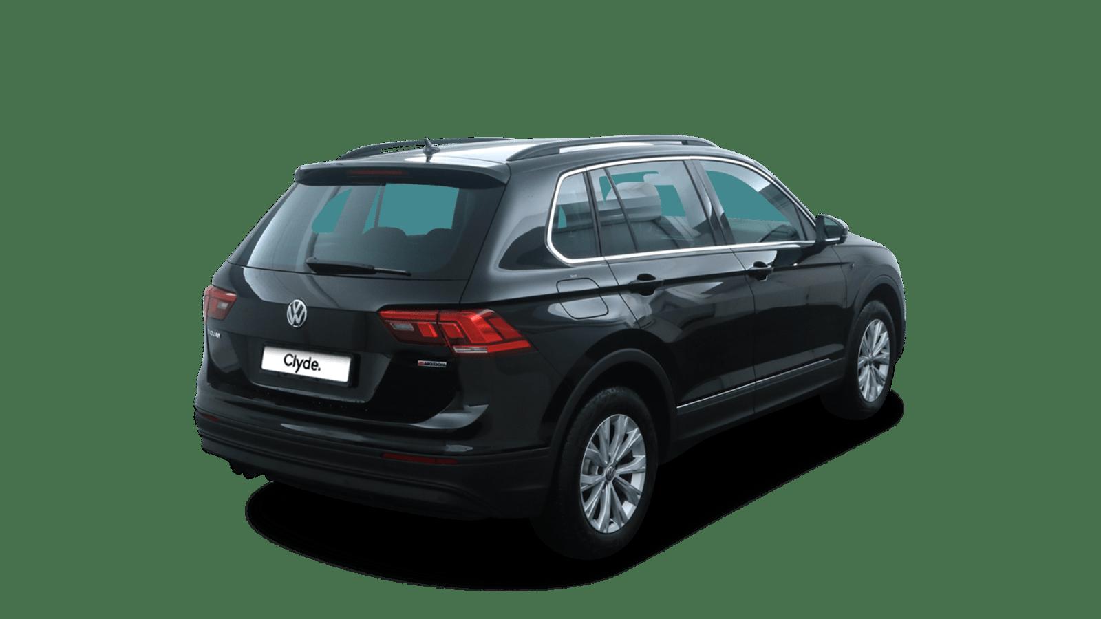 VW Tiguan Black back - Clyde car subscription