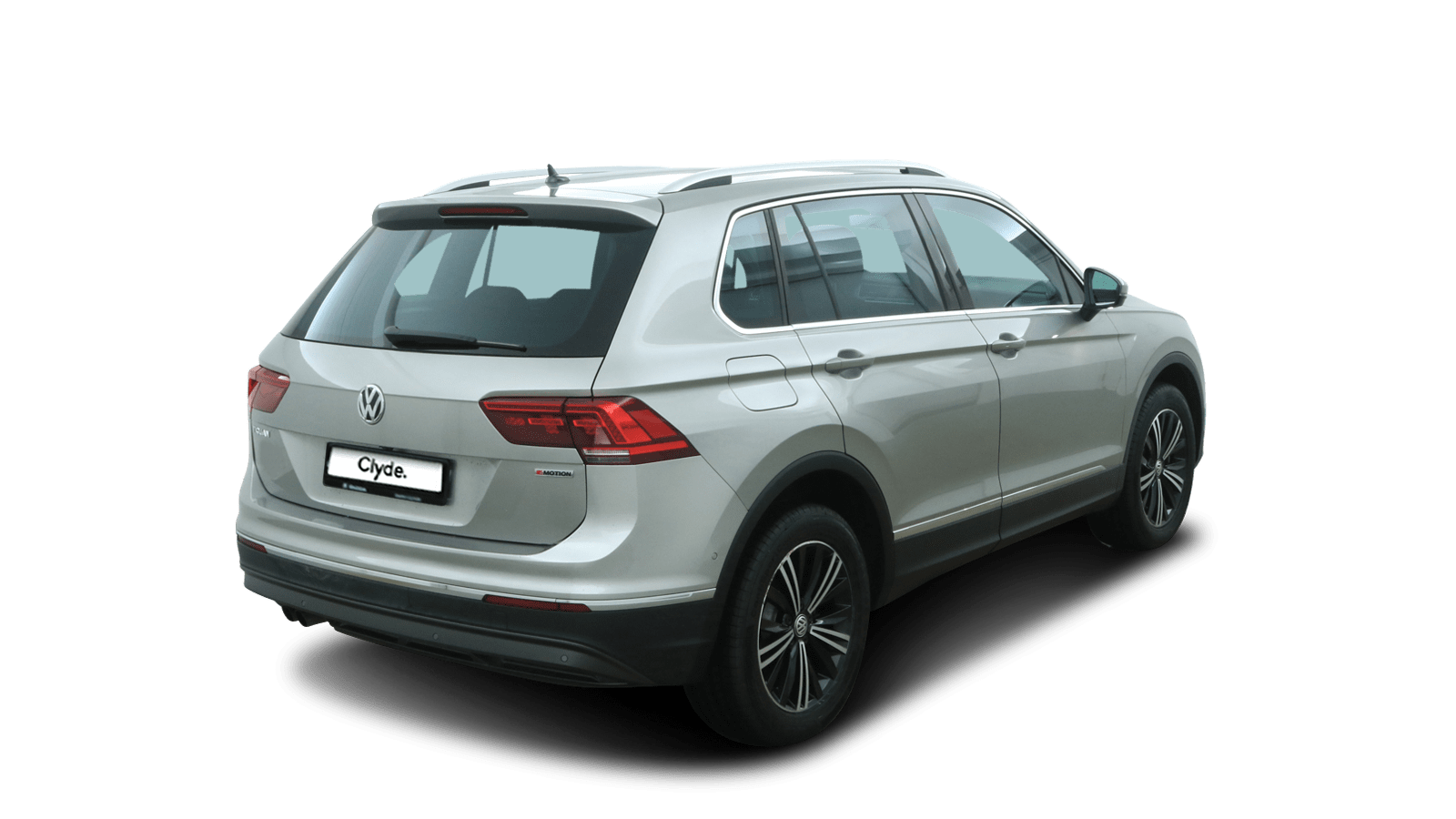 VW Tiguan Silver back - Clyde car subscription