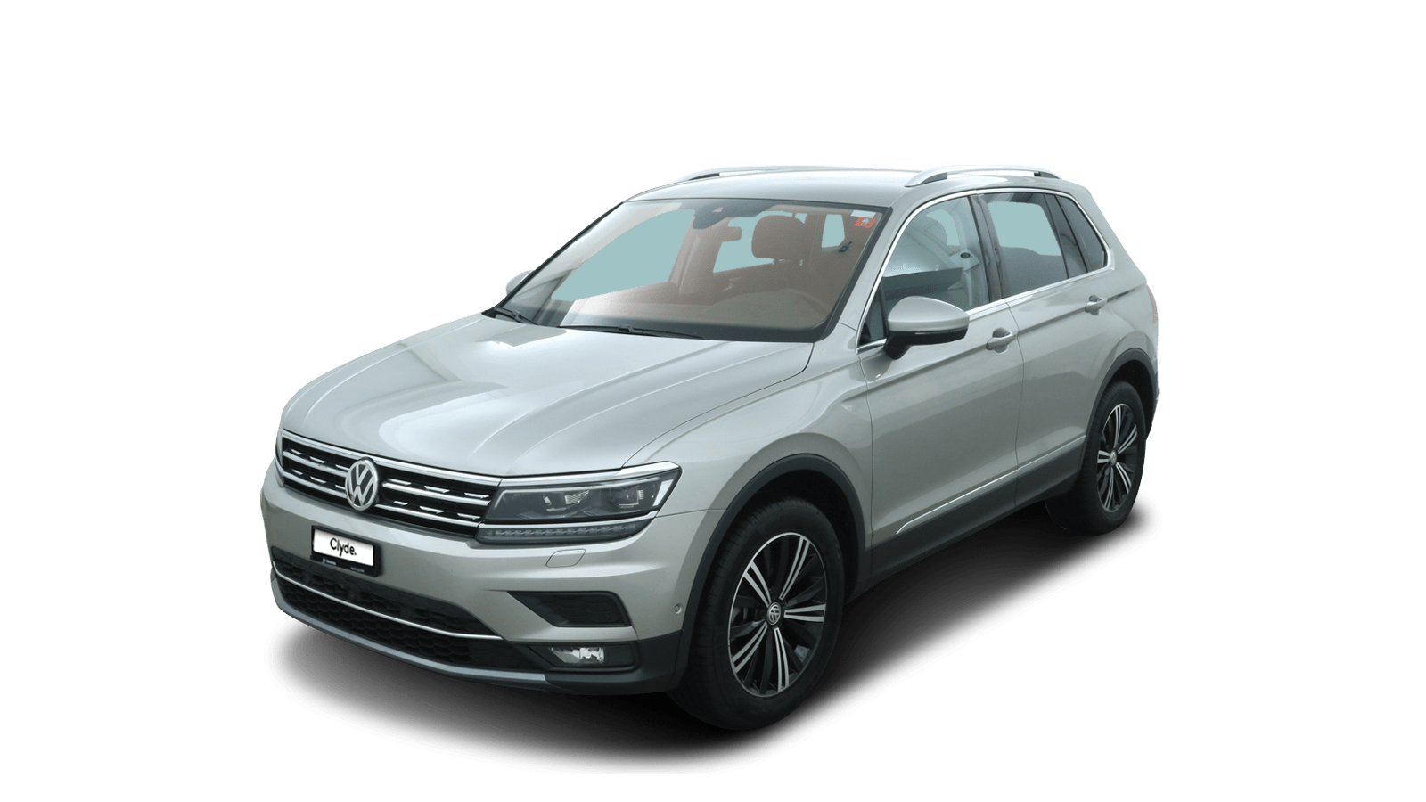 VW Tiguan Silver front - Clyde car subscription