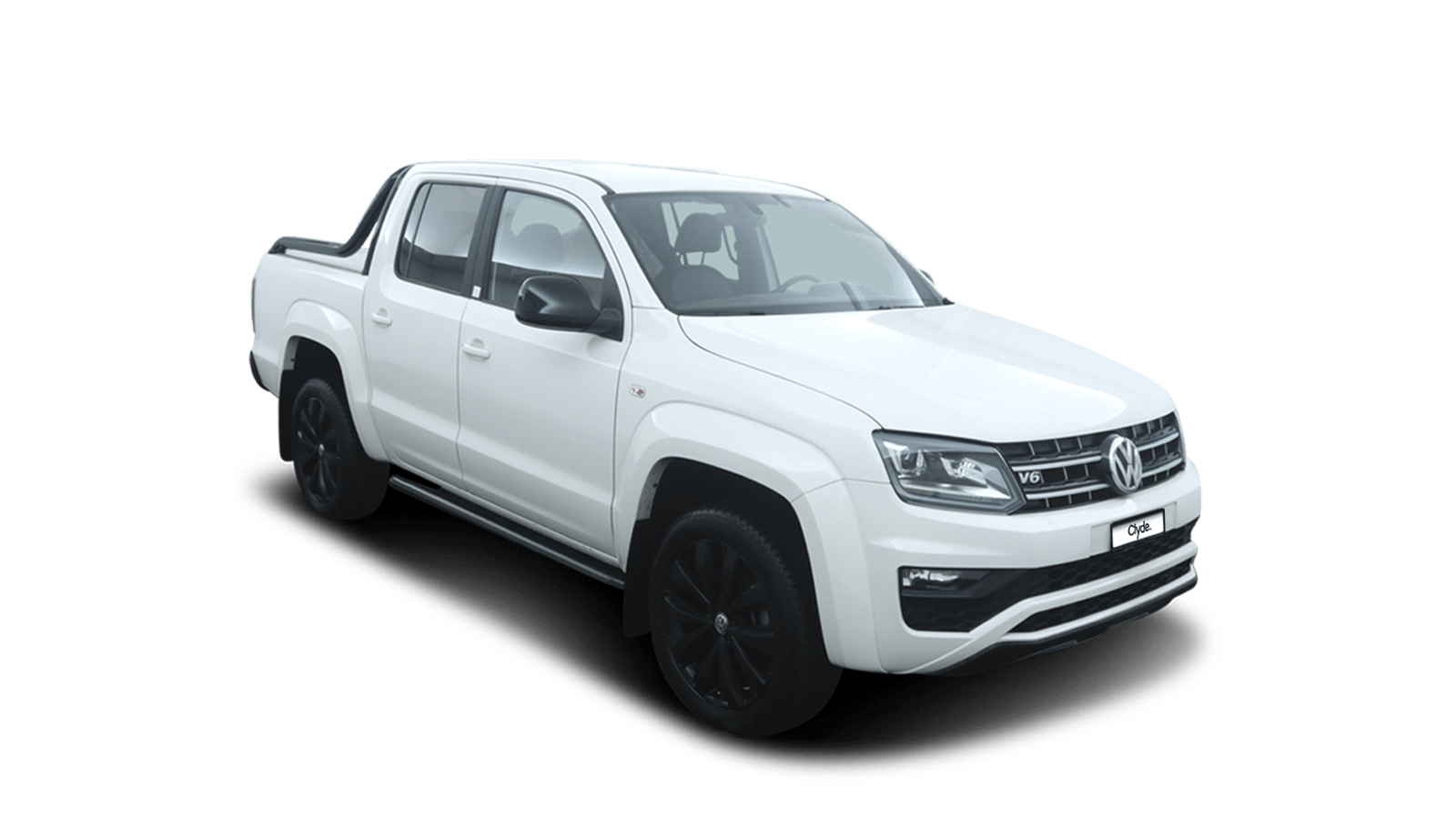 VW Amarok White front - Clyde car subscription