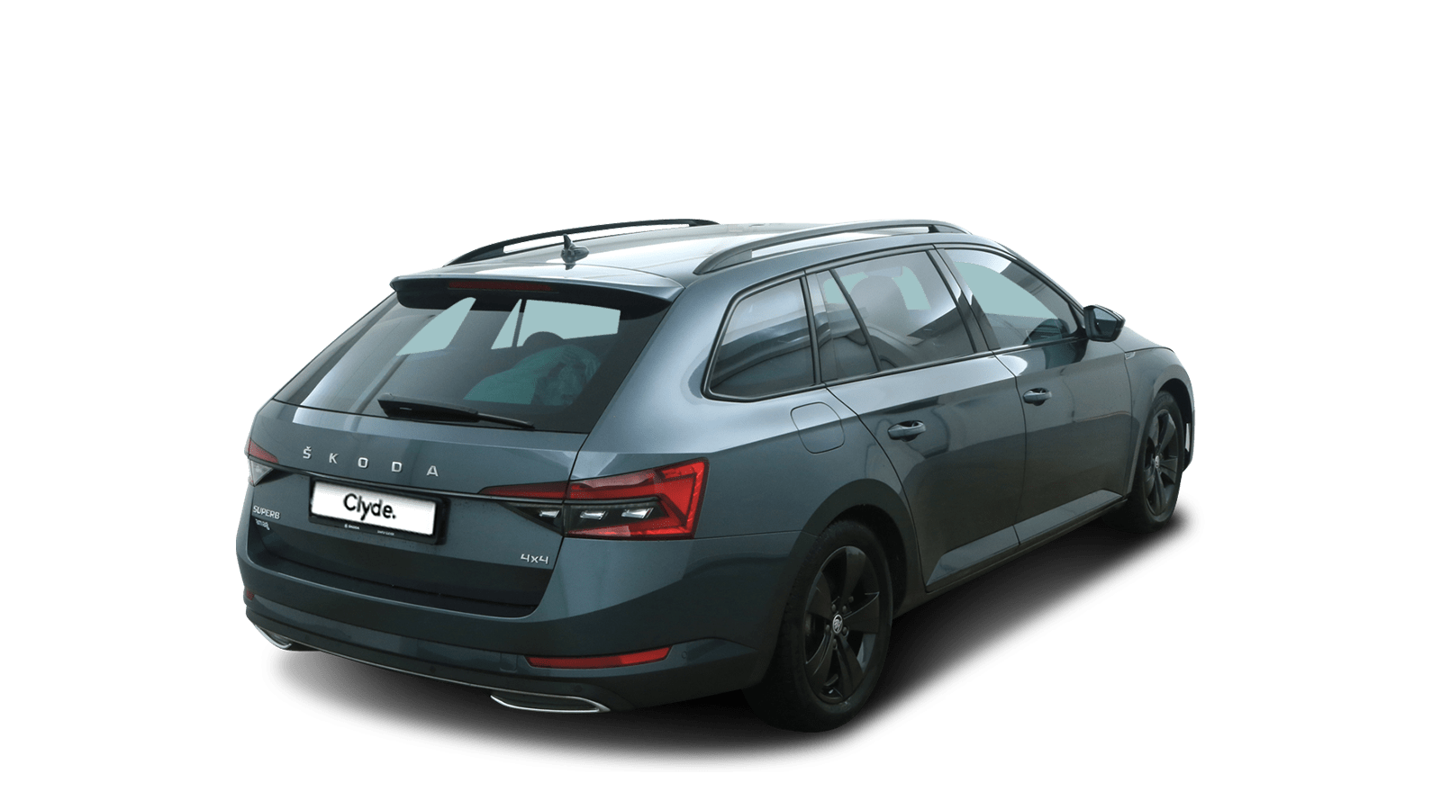 ŠKODA Superb Grey back - Clyde car subscription