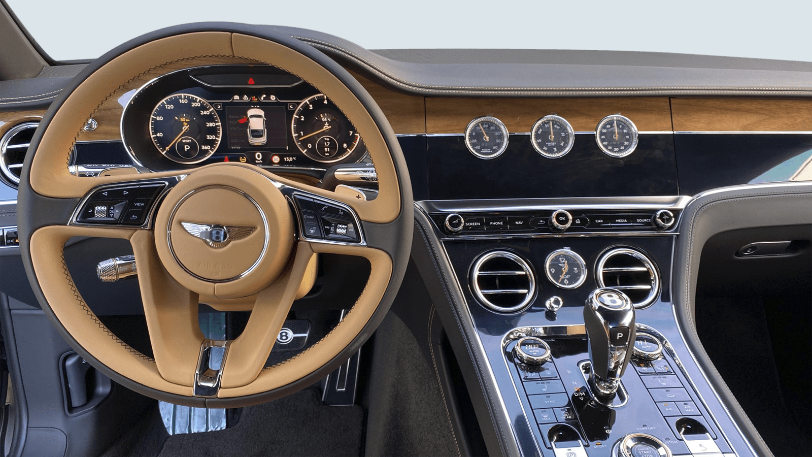 Bentley Continental GT V8 Blau interior - Clyde Auto-Abo