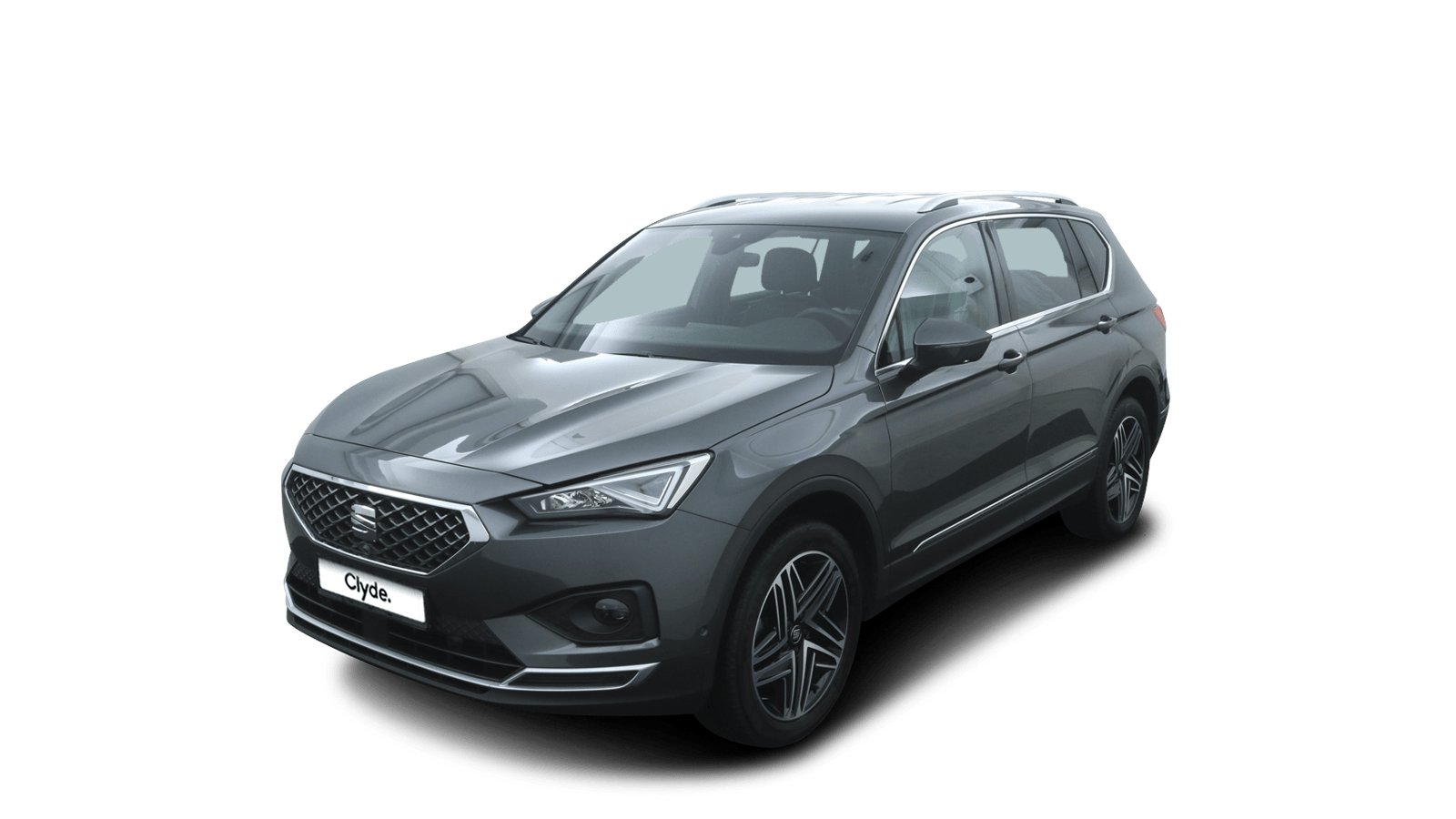 SEAT Tarraco Grey front - Clyde car subscription