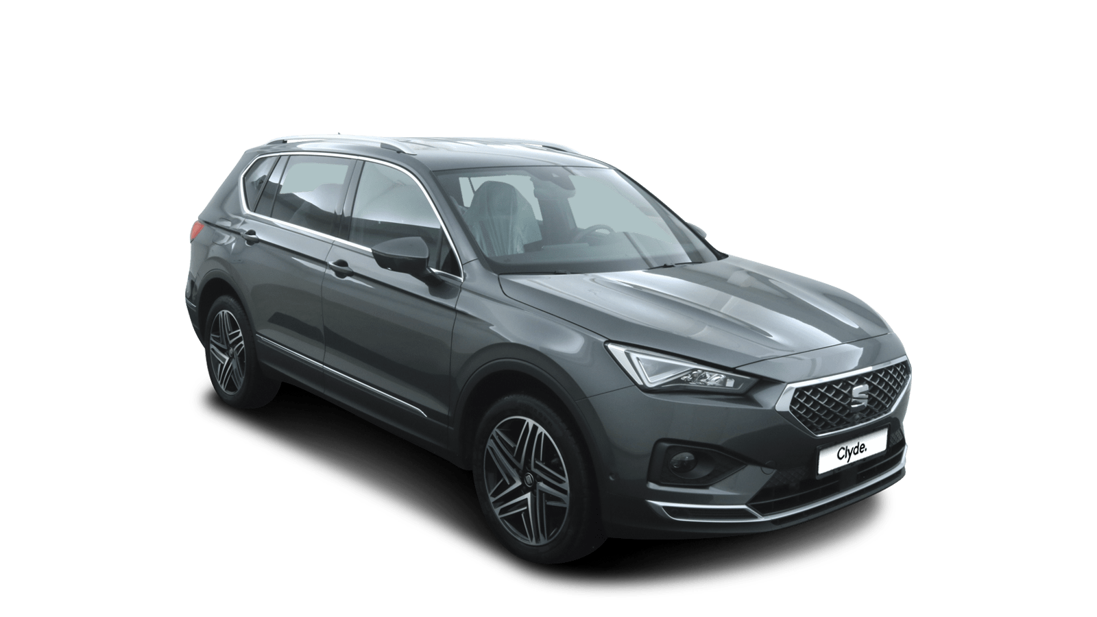 SEAT Tarraco Grau front - Clyde Auto-Abo