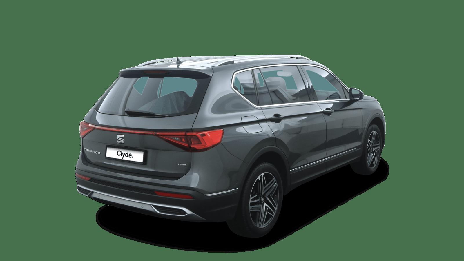 SEAT Tarraco Grau rückansicht - Clyde Auto-Abo
