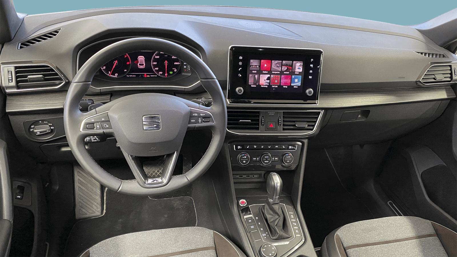 SEAT Tarraco Grau interior - Clyde Auto-Abo