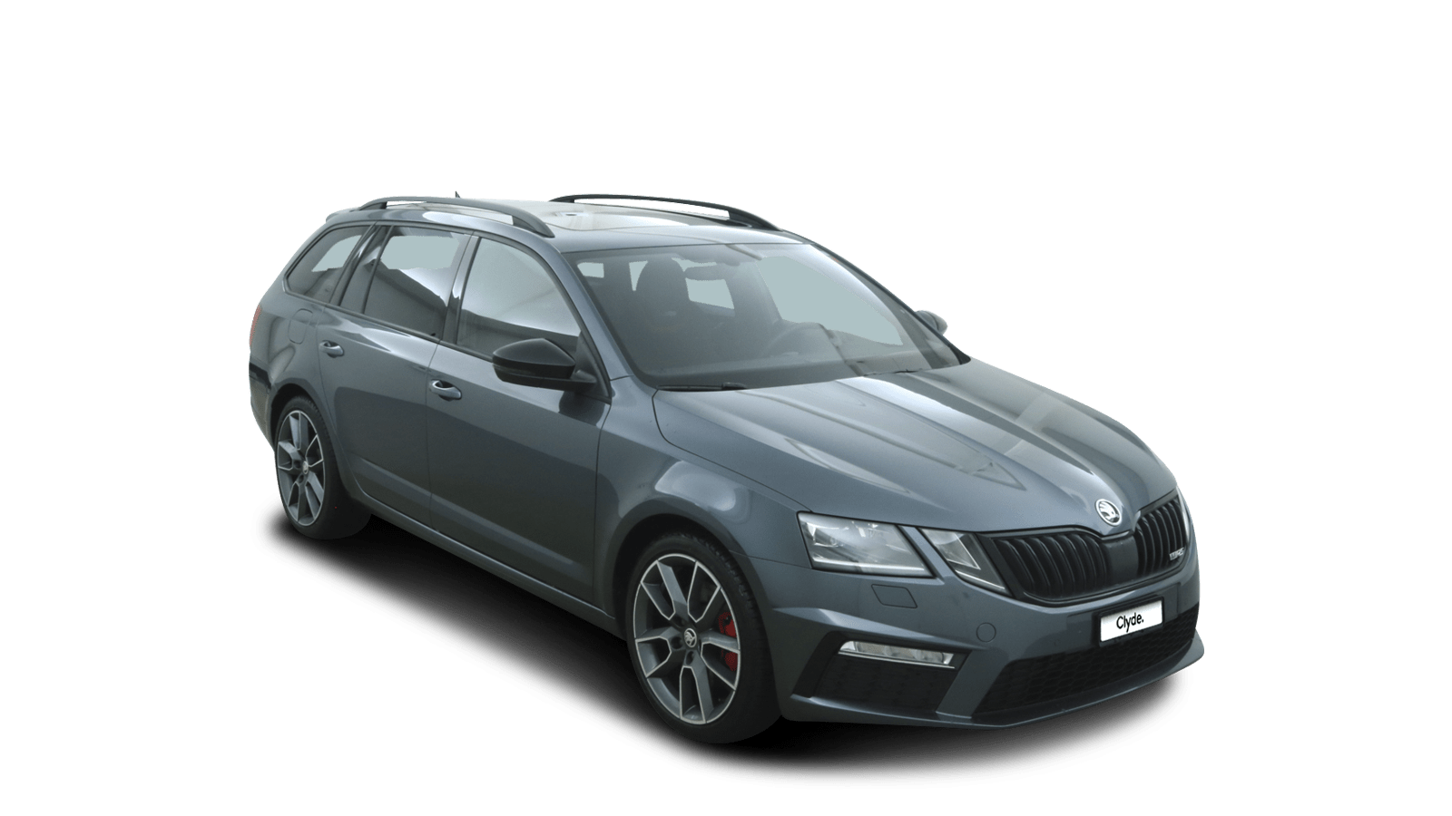 ŠKODA OCTAVIA COMBI RS Grey front - Clyde car subscription