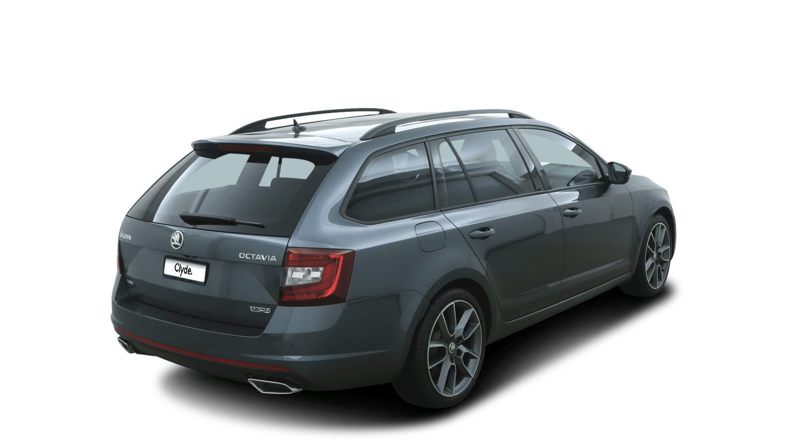ŠKODA OCTAVIA COMBI RS Grey back - Clyde car subscription