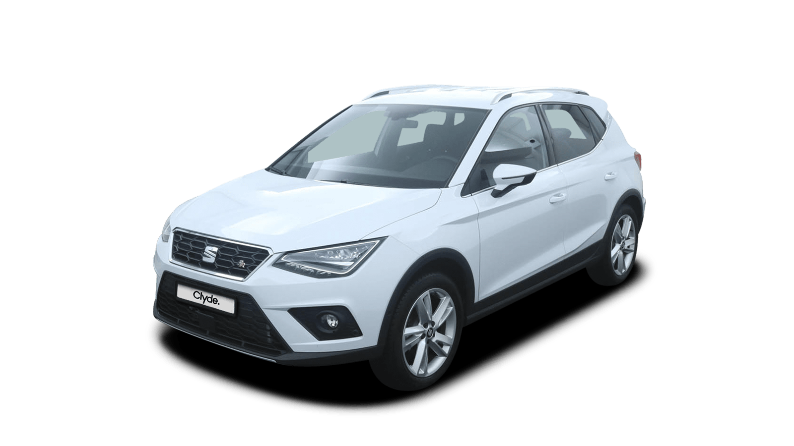SEAT Arona White front - Clyde car subscription