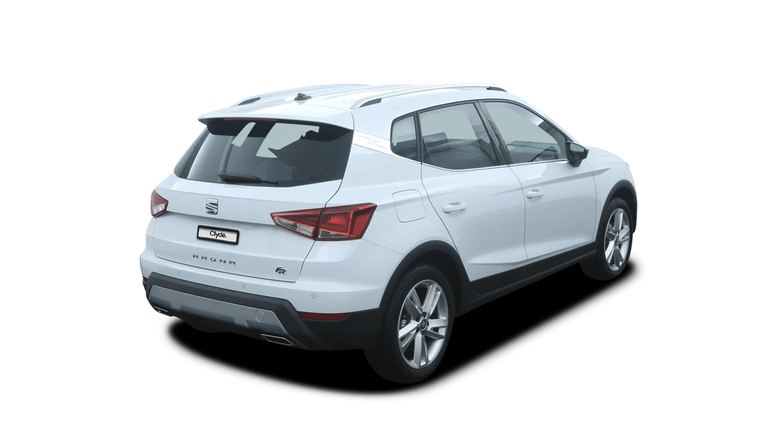 SEAT Arona White back - Clyde car subscription