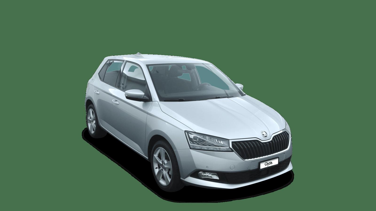 ŠKODA Fabia Silver front - Clyde car subscription