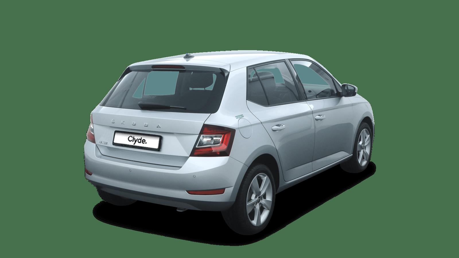 ŠKODA Fabia Silver back - Clyde car subscription