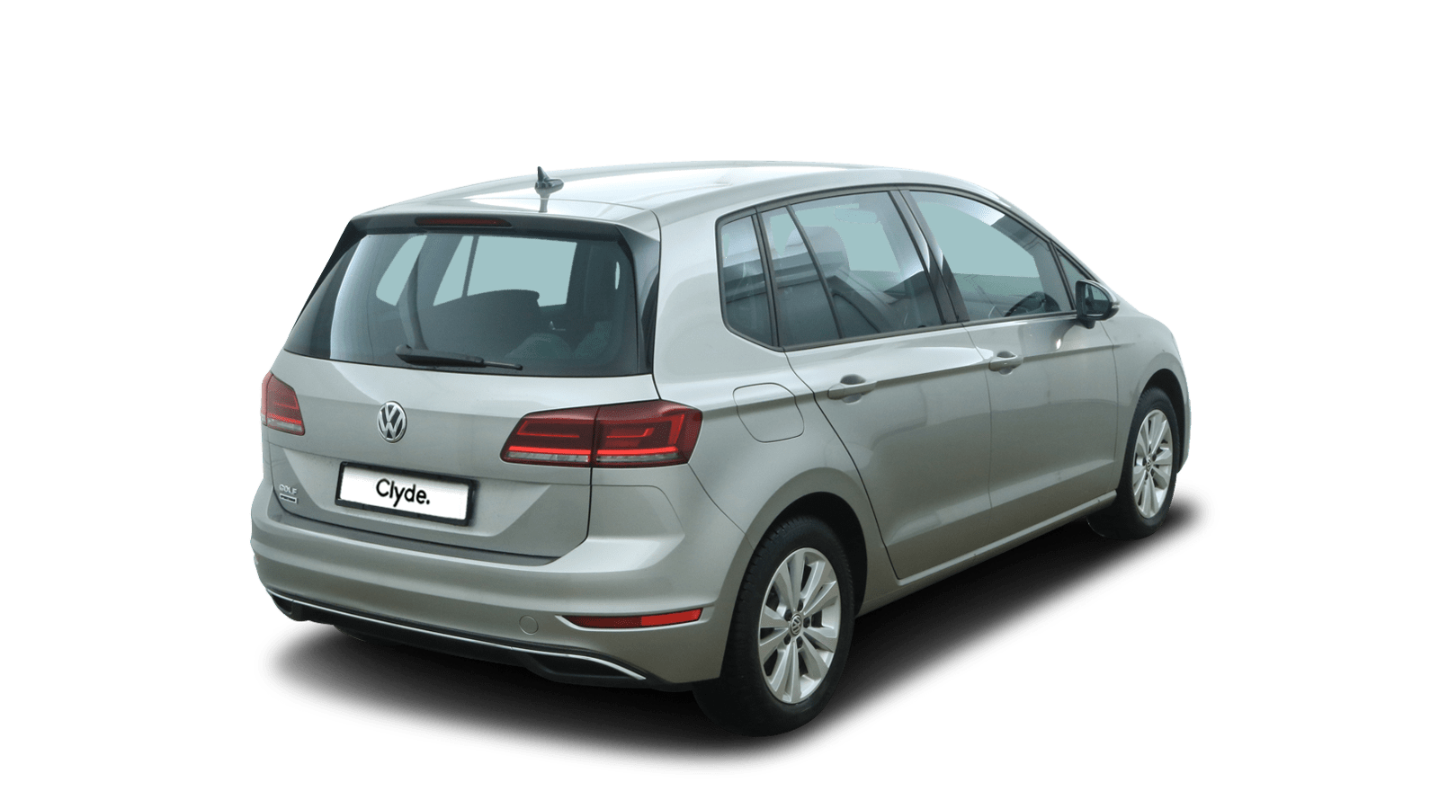 VW Golf Sportsvan Silver back - Clyde car subscription