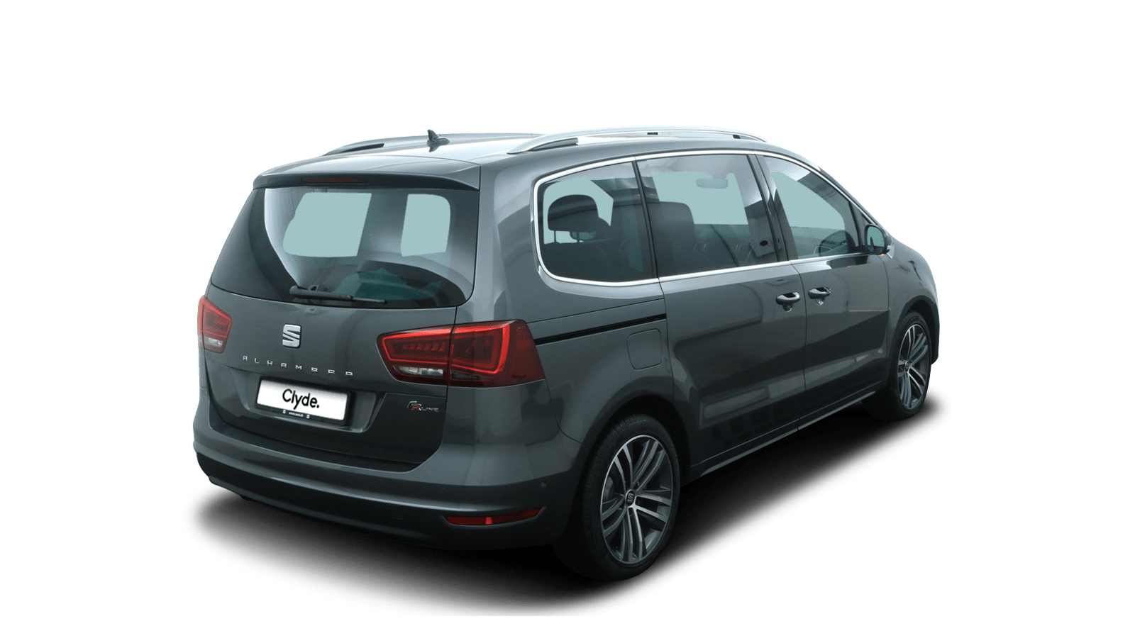SEAT Alhambra Grey back - Clyde car subscription