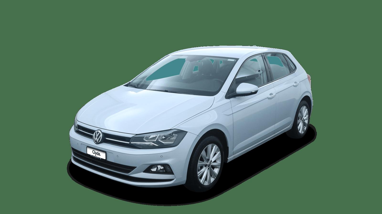 VW Polo Silver front - Clyde car subscription