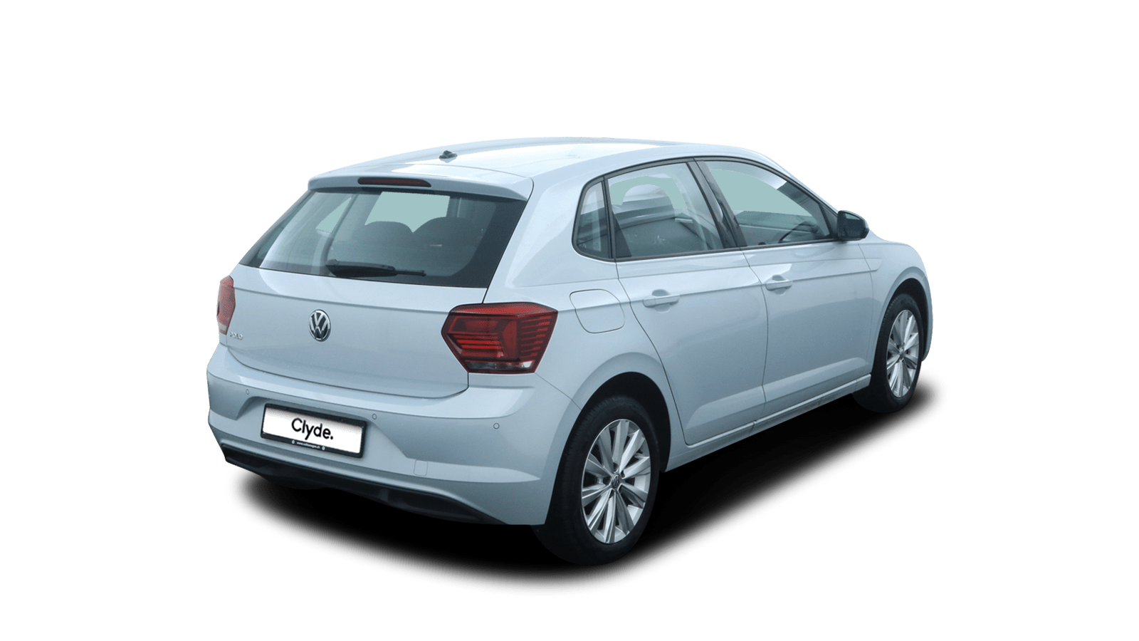 VW Polo Silver back - Clyde car subscription