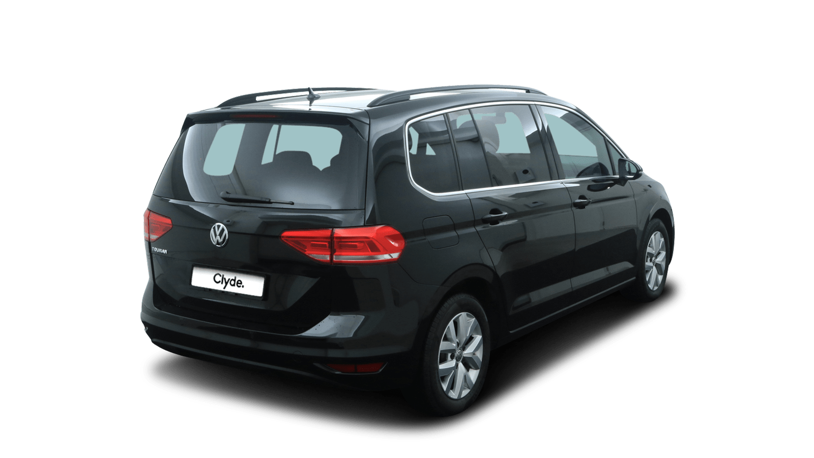 VW Touran Black back - Clyde car subscription