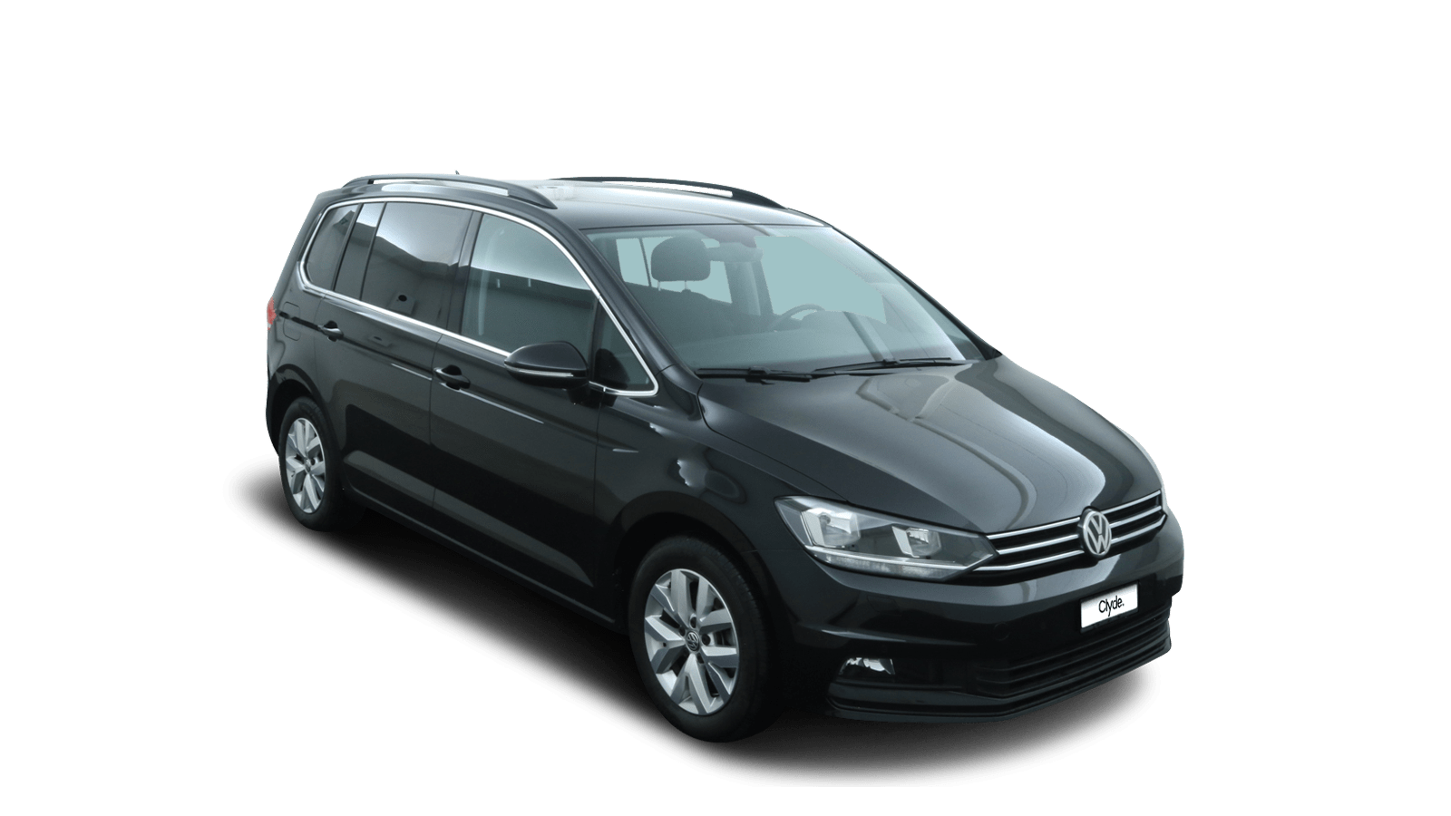 VW Touran Black front - Clyde car subscription