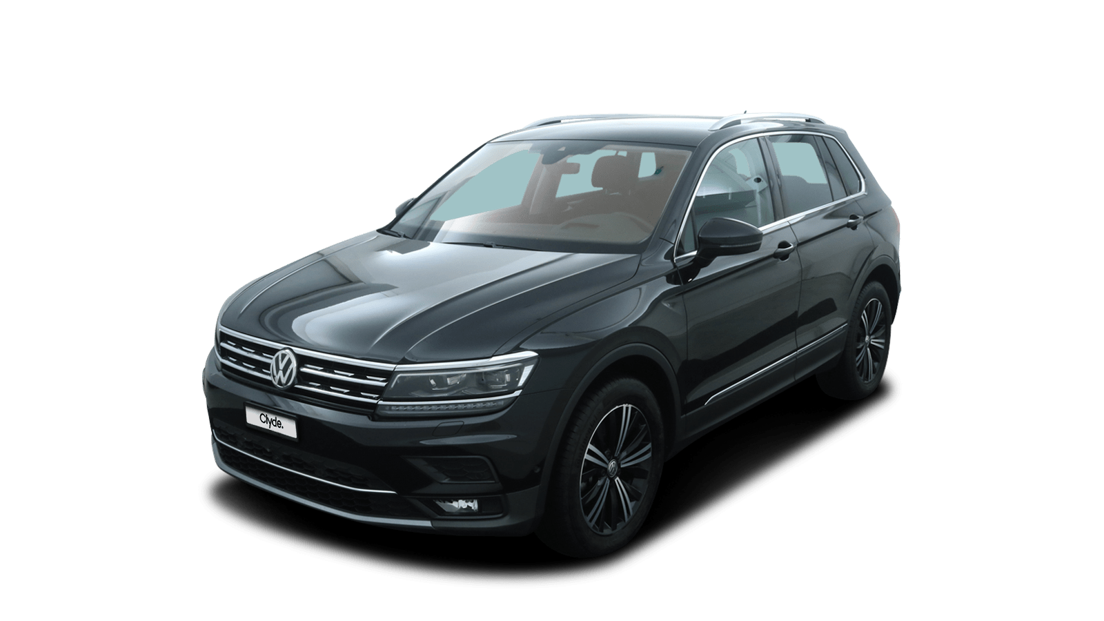 VW Tiguan Black front - Clyde car subscription