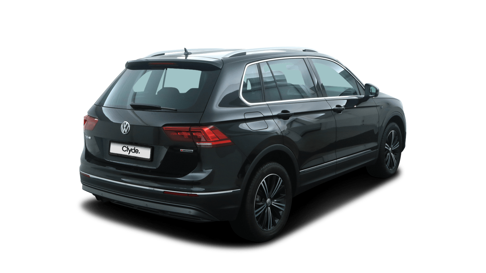 VW Tiguan Black back - Clyde car subscription
