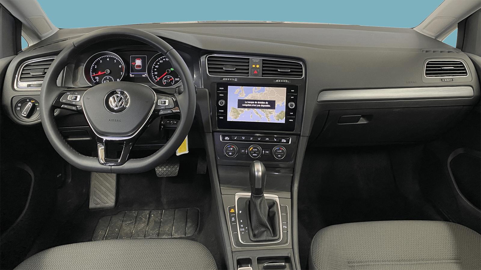 VW Golf Silver interior - Clyde car subscription