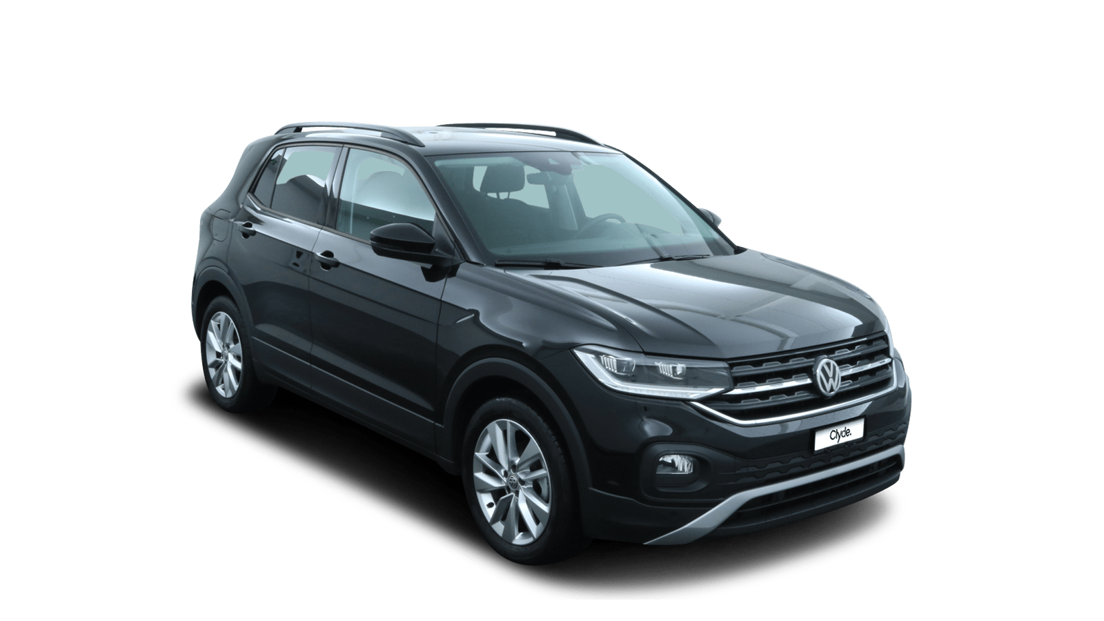 VW T-Cross Schwarz front - Clyde Auto-Abo