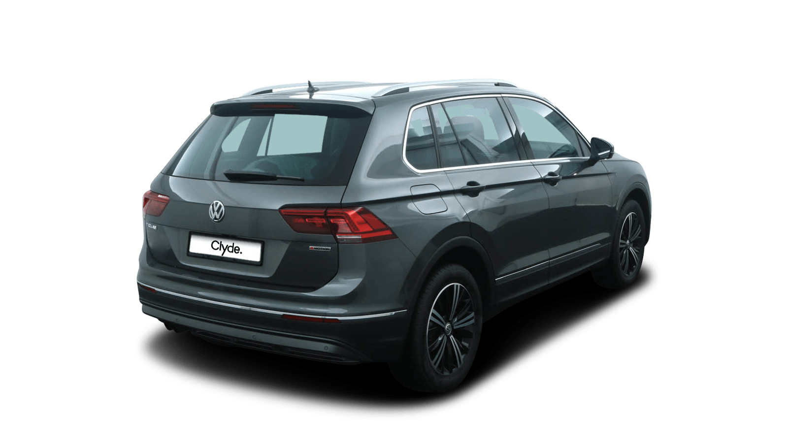 VW Tiguan Grey back - Clyde car subscription
