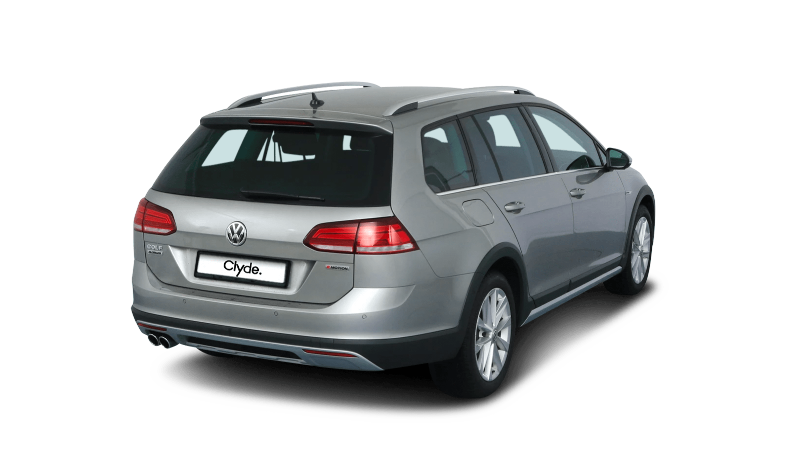 VW Golf Variant Alltrack Silber front - Clyde Auto-Abo