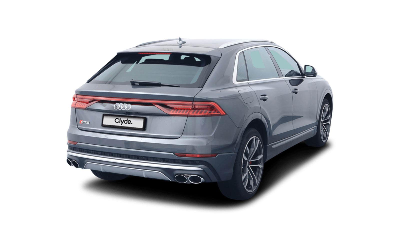 Audi SQ8 Grau front - Clyde Auto-Abo