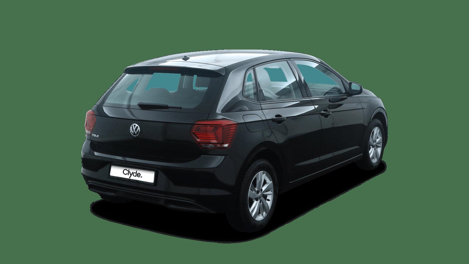 VW Polo Black back - Clyde car subscription