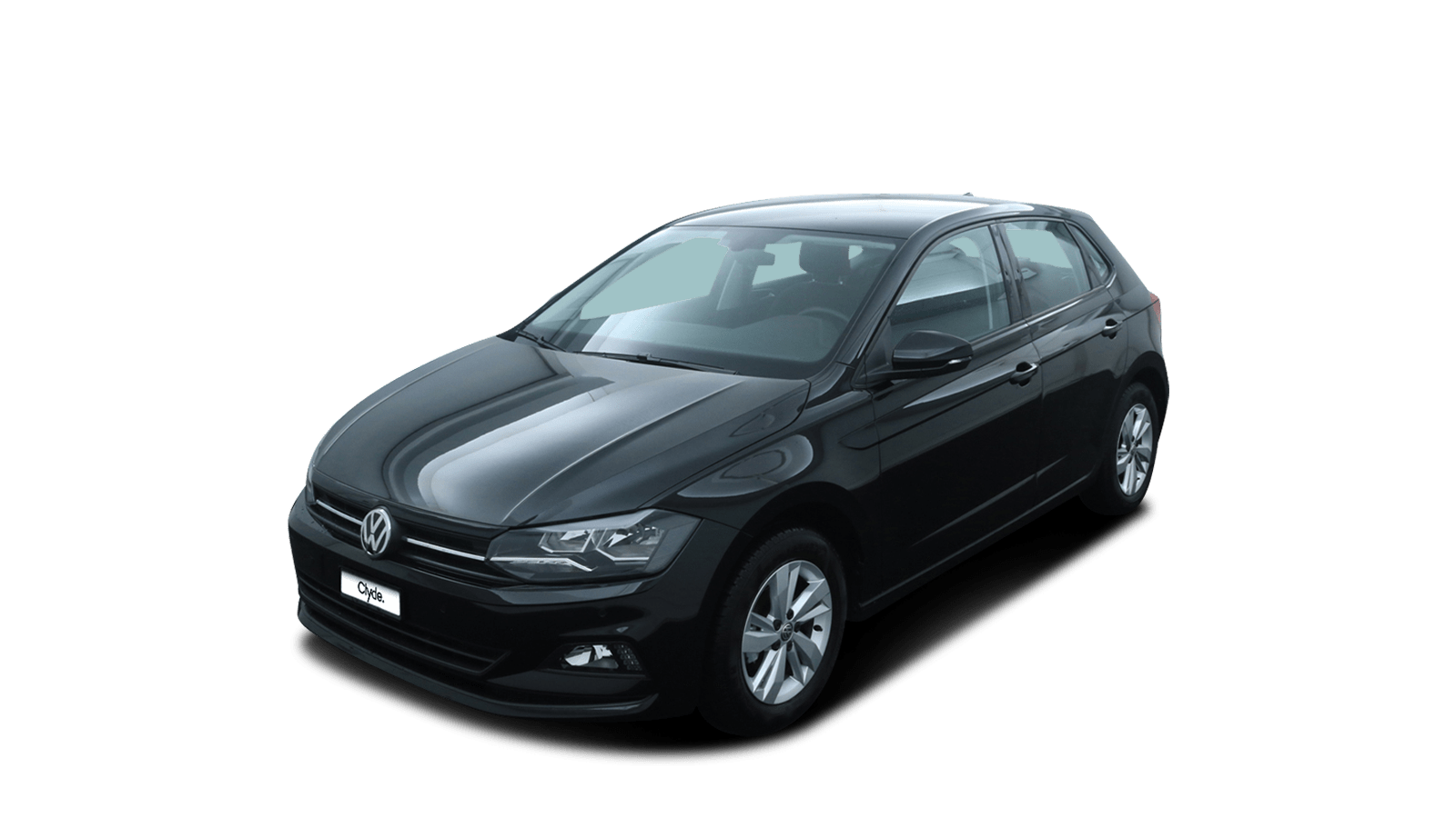 VW Polo Black front - Clyde car subscription