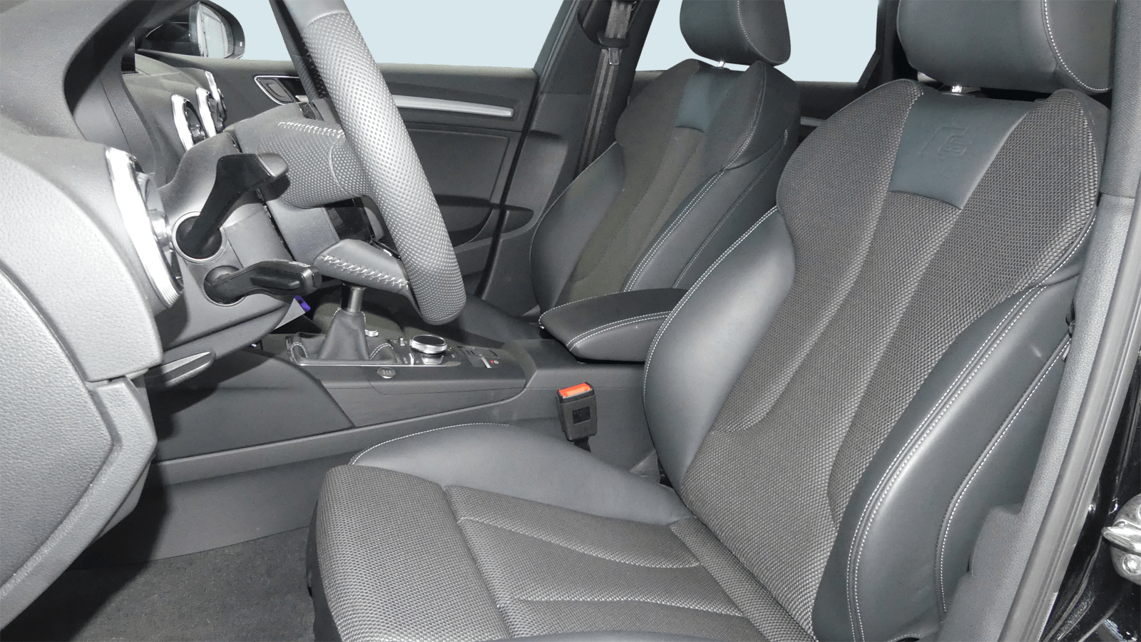 Audi A3 Sportback Black - Clyde car subscription