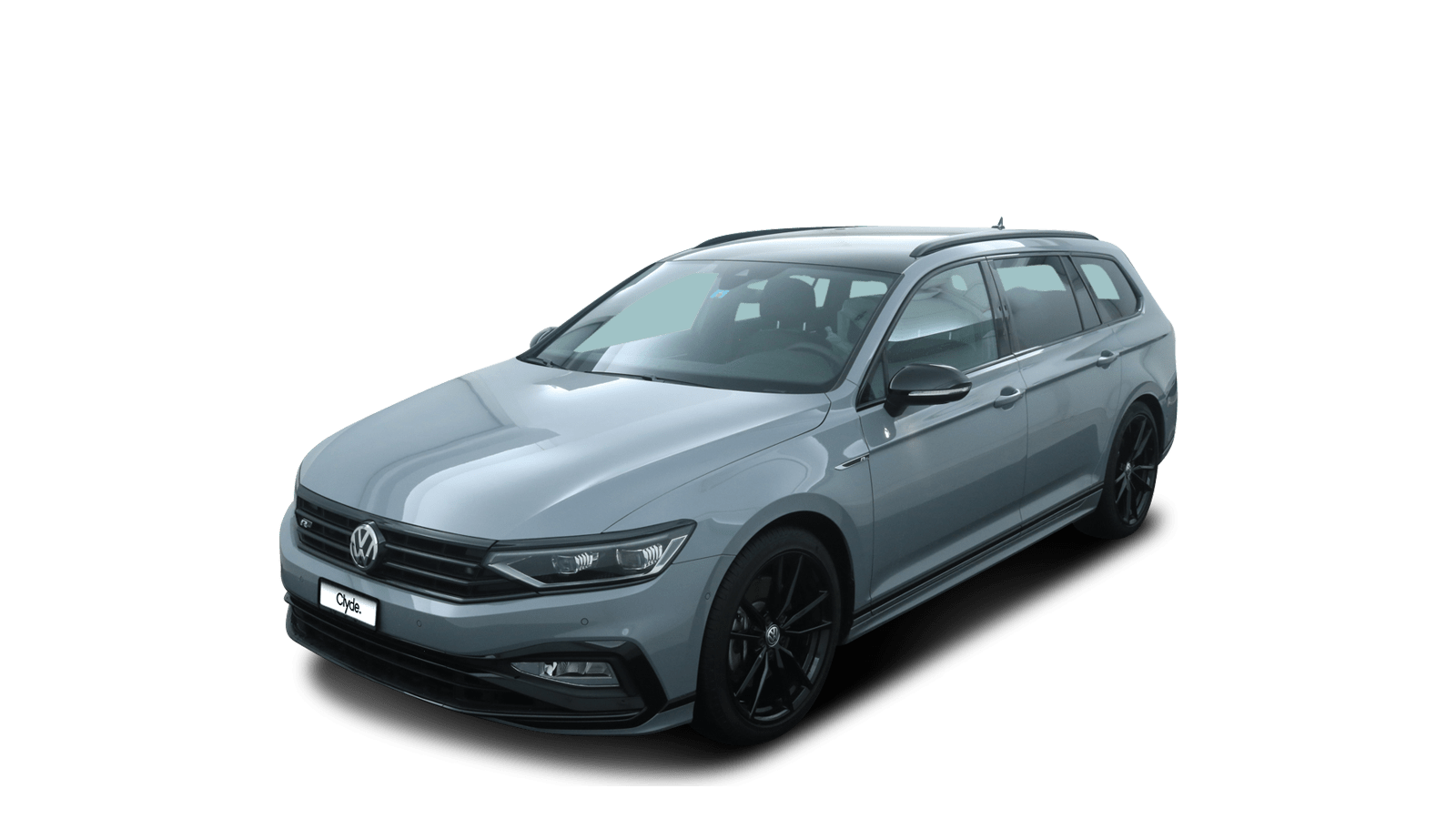 VW Passat Variant Grey front - Clyde car subscription