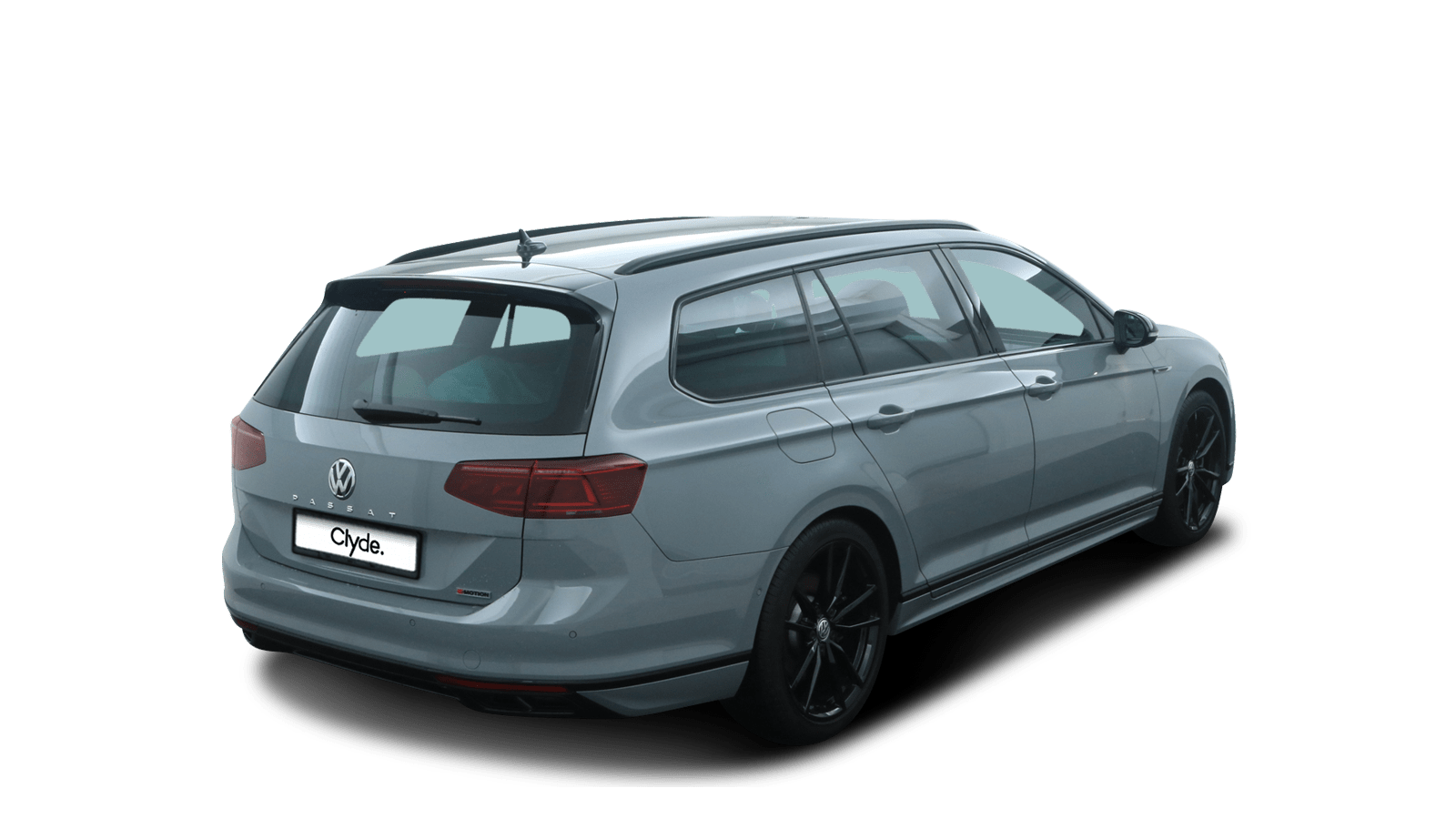 VW Passat Variant Grey back - Clyde car subscription