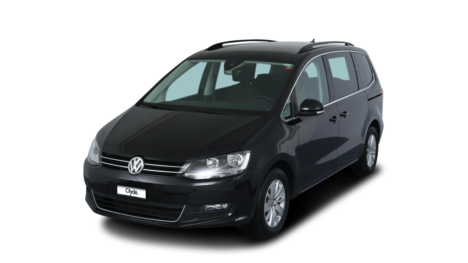 VW Sharan Schwarz front - Clyde Auto-Abo